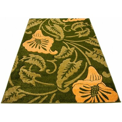 Home & Haus Garnet Green Area Rug