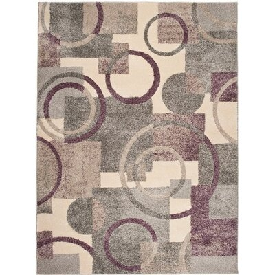 Home & Haus Jasp Gray Area Rug