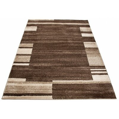 Home & Haus Barite Brown Area Rug