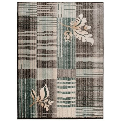 Home & Haus Spinal Anthracite Area Rug