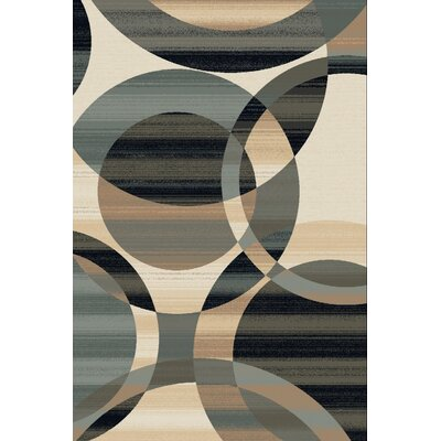 Home & Haus Spinal Cream Area Rug