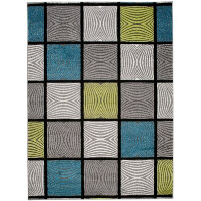 Home & Haus Amatrix Grey Area Rug