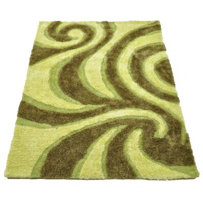 Home & Haus Green Area Rug