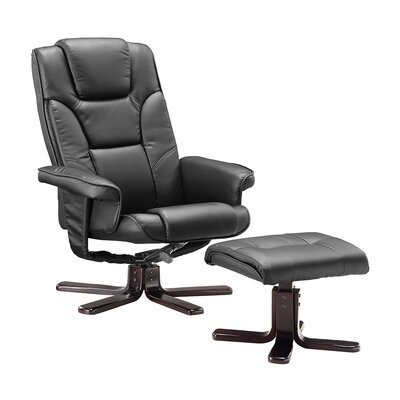 Home & Haus Henry Recliner and Footstool