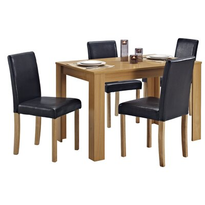Home & Haus Addison Dining Table and 4 Chairs