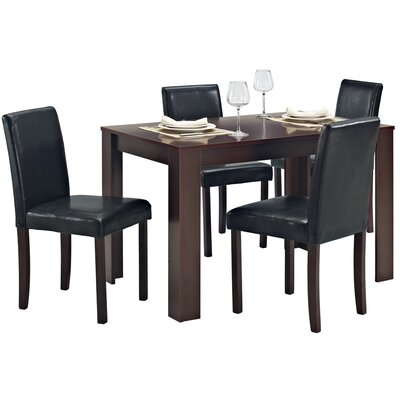 Home & Haus Sadie Dining Table and 4 Chairs