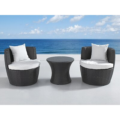 Home & Haus 2 Seater Conversation Set with Cushions