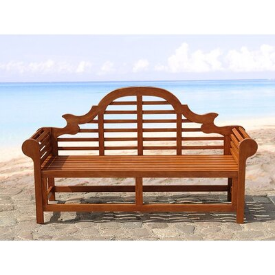 Home & Haus 3 Seater Wooden Bench
