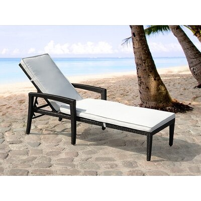 Home & Haus Garden Lounger with Cushion