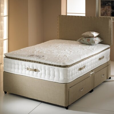 Home & Haus Whitney Four Drawer Sprung 3000 Divan Bed