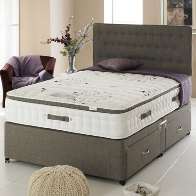 Home & Haus Jade Four Drawer Sprung 2500 Divan Bed