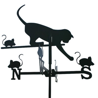 Home & Haus Cat and Mouse Weathervane