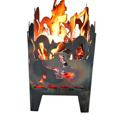 Home & Haus Cat Fire Basket