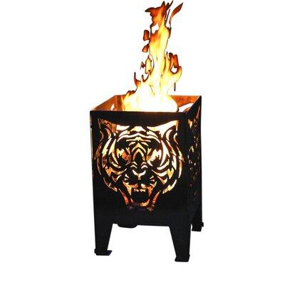 Home & Haus Tiger Fire Basket