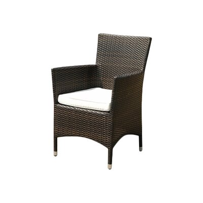 Home & Haus Dining Arm Chair with Cushion