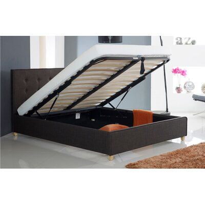 Home & Haus Upholstered Ottoman Bed Frame