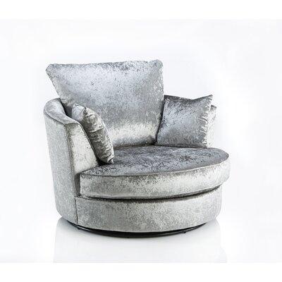Home & Haus Jupiter Swivel Tub Chair