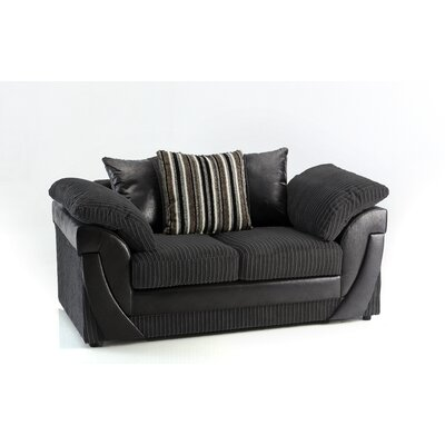 Home & Haus Lucy 2 Seater Loveseat