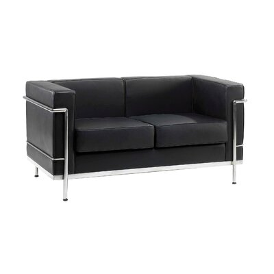 Home & Haus Beck Genuine Leather 2 Seater Sofa