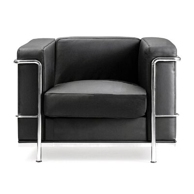 Home & Haus Beck Leather 1 Seater Sofa
