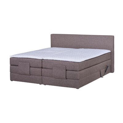 Home & Haus Ludovico Upholstered Bed Frame