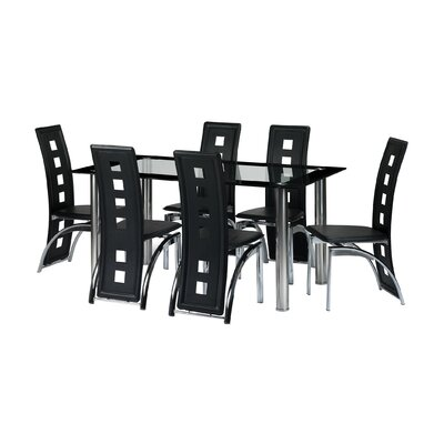 Home & Haus Dining Table and 6 Chairs