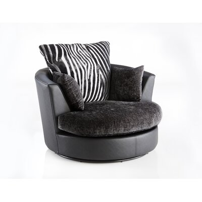 Home & Haus Mulberry Swivel Tub Chair