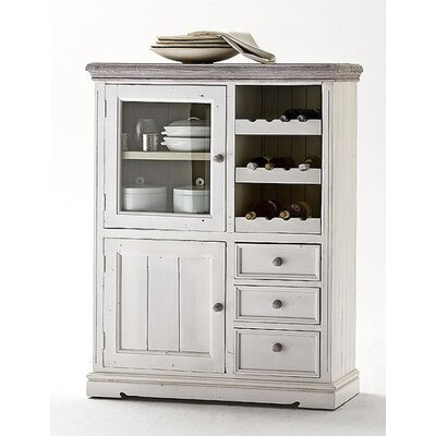 Home & Haus Opia Solid Wood Cupboard