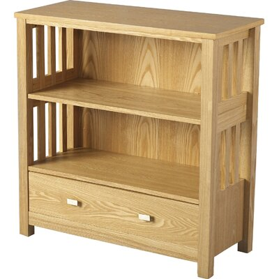 Home & Haus Whitby Low Wide 83.8cm Standard Bookcase