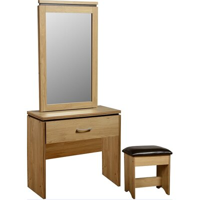 Home & Haus Charlotte Dressing Table with Mirror