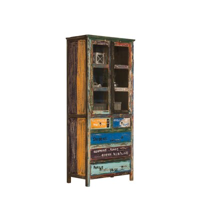 Home & Haus Nikita Solid Wood Display Cabinet