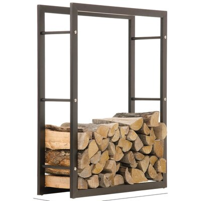 Home & Haus Carrie Fireplace Wood Stand