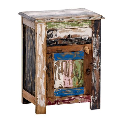 Home & Haus Lombok Night Stand with Drawer