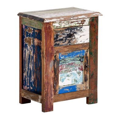 Home & Haus Erin Night Stand with Drawer