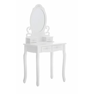 Home & Haus Sissy Dressing Table with Mirror