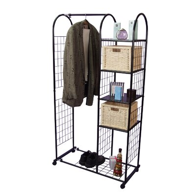 Home & Haus Wheeled clothing rail