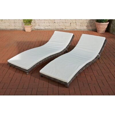 Home & Haus Pesaro Sun Lounger Set with Cushions