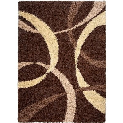 Home & Haus Agate Dark Brown Area Rug