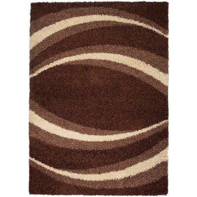 Home & Haus Agate Dark Brown Area Rug