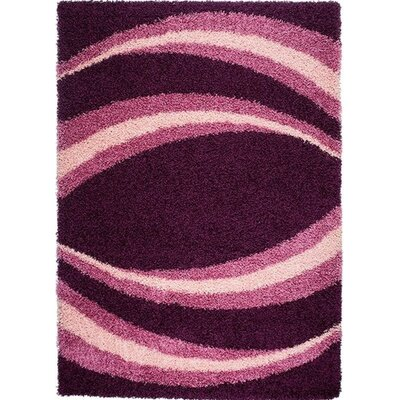 Home & Haus Agate Dark Violet Area Rug