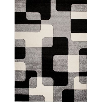 Home & Haus Apatite Gray Area Rug