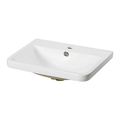 Home & Haus Westminster 60.5 cm Self Rimming Sink