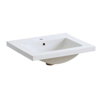Home & Haus Westminster 60cm Recessed Bathroom Sink