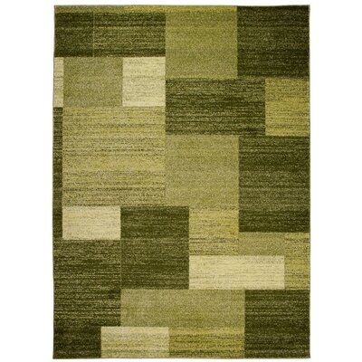 Home & Haus Barite Dark Green Area Rug