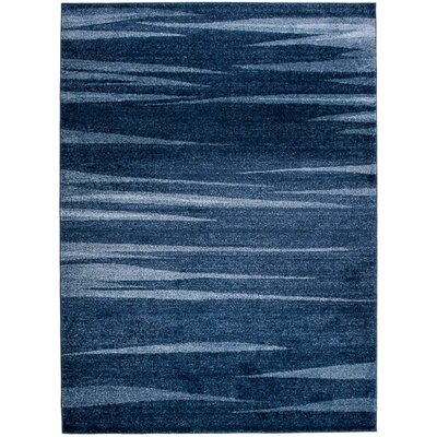 Home & Haus Barite Dark Blue Area Rug