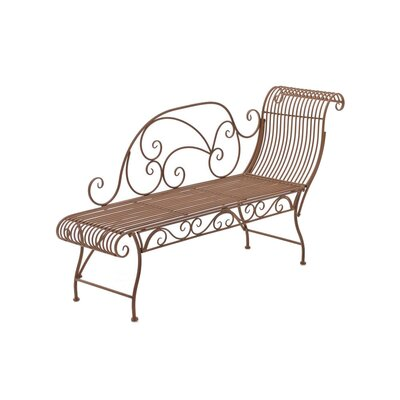 Home & Haus Shakra 1 Seater Metal Bench