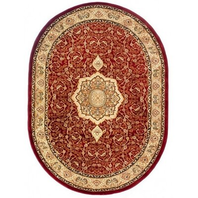 Home & Haus Copal Red Area Rug