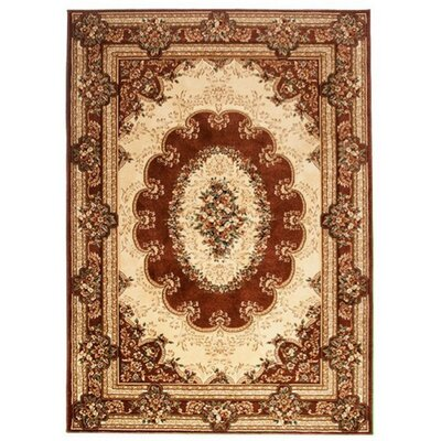 Home & Haus Copal Brown Area Rug