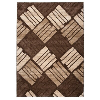Home & Haus Jasp Dark Brown Area Rug