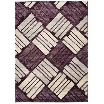 Home & Haus Jasp Dark Lilac Area Rug